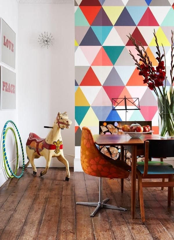 Creative uses for wallpaper